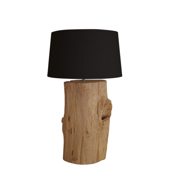Boomstronk lamp